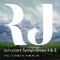 シューベルト: 交響曲第2番&第3番