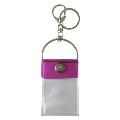 タワレコ 缶バッジキーホルダー Purple