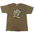 VANS×TOWER RECORDS MEX SKULL Tee OLIVE/S