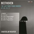 Beethoven: The Last Three Piano Sonatas Op.109, Op.110, Op.111