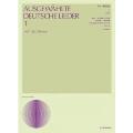 ドイツ歌曲集 1(中声用)(改訂新版) 声楽ライブラリー