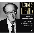 """A.Lokshin: Symphony No.5 """"Shakespeare's Sonnets"""", Quintet for Clarinet, Two Violins, Viola and Cello, Variations for Piano"""