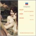 "Mozart: Trio KV.498 ""Kegelstatt""; Weber: Flute Trio Op.63; Brahms: Horn Trio Op.40"