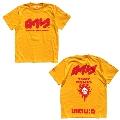 スプラトゥーン2 × TOWER RECORDS タワレコ T-shirt 黄 Mサイズ