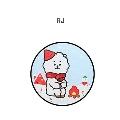 BT21 アクリルマグネット Winter Ver./RJ