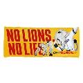 NO LIONS, NO LIFE. 2020 ハイブリッドフェイスタオル