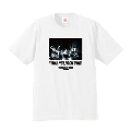 UNISON SQUARE GARDEN × TOWER RECORDS Thank you, ROCK BAND! T-shirt ホワイト M
