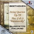 ベートーヴェン: 弦楽四重奏曲第8番《ラズモフスキー第2番》、第9番《ラズモフスキー第3番》