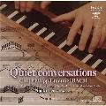 Quiet Conversations - C.P.E.Bach: Sonata, Fantasia, Variations, etc