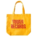 TOWER RECORDS トートバッグ Ver.2 イエロー