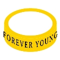 THE FOREVER YOUNG × TOWER RECORDS ラバーバンド