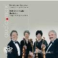 ベートーヴェン: 弦楽四重奏曲第15番、メンデルスゾーン: 弦楽四重奏曲第6番 [SACD Hybrid+DVD(PAL)]