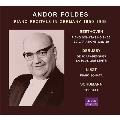 アンドール・フォルデス - ドイツでのピアノ・リサイタル 1950-1968