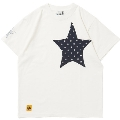 TOWER RECORDS × CHUMS NMNL STAR POCKET TEE WHITE/Lサイズ