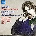 ブゾーニ: 2台ピアノのための作品集