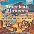 アメリカの作曲家による弦楽合奏曲集
