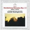 バロック名盤1200::J.S.バッハ:ブランデンブルク協奏曲第1-3番 フルート、ヴァイオリンとチェンバロのための協奏曲
