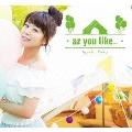 az you like... [CD+DVD]<初回限定盤>