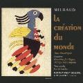 ミヨー:世界の創造&プロヴァンス組曲 プーランク:オルガン、弦楽とティンパニのための協奏曲 ストラヴィンスキー:バレエ「カルタ遊び」