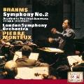 ブラームス:交響曲第2番 悲劇的序曲/大学祝典序曲