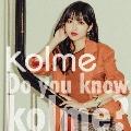 Do you know kolme? [CD+Blu-ray Disc]<Type-B>