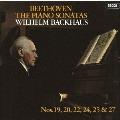 ベートーヴェン:ピアノ・ソナタ第19番・第20番・第22番・第24番・第25番・第27番 [UHQCD x MQA-CD]<生産限定盤>