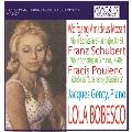 """Mozart: Violin Sonata K.454; Schubert: Violin Sonata D.408; Poulenc: Violin Sonata """"To the Memory of Garcia Lorca"""""""