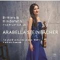 ブリテン: ヴァイオリン協奏曲 Op.15; ヒンデミット: ヴァイオリン協奏曲