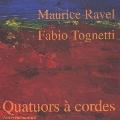 ラヴェル: 弦楽四重奏曲Op.10、トネッティ(1965~): 弦楽四重奏曲(1998)