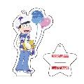 おそ松さん × TOWER RECORDS アクリルキーホルダー(スタンド付き)カラ松(ブルー)