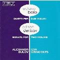 Berio: Duetti per due violini; Denisov: Sonata