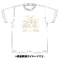 「AKBグループ リクエストアワー セットリスト50 2020」ランクイン記念Tシャツ 3位 ホワイト × ゴールド Sサイズ