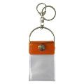 タワレコ 缶バッジキーホルダー Orange