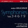 ブルックナー: 交響曲第3番、第4番、第6番、第7番、第9番