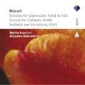 Mozart: Sonatas for Piano Duet K.381, K.521, Sonatas for 2 Pianos K.448, etc