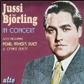 Jussi Bjoerling - In Concert (Live at Carnegie Hall): Songs, Arias & Duets