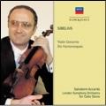 Sibelius: Violin Concerto Op.47, Six Humoresques