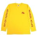 TOWER RECORDS LongT-shirt イエロー Mサイズ