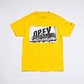 少年イン・ザ・フッド × WEARTHEMUSIC S/S T-shirt(Yellow)XLサイズ