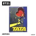 BT21 ダイカットクリアファイル Vol.3/TATA