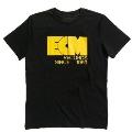 ECM Logo 1969 Tシャツ 黒/XL