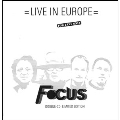 Live In Europe<限定盤>