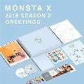MONSTA X 2018 SEASON'S GREETINGS [CALENDAR+GOODS+2DVD]