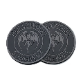 Hollywood Vampires Rubber Coaster BLACK