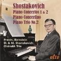 ショスタコーヴィチ: ピアノ協奏曲第1番、第2番、ピアノ三重奏曲第2番、2台のピアノのためのコンチェルティーノ Op.94