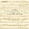 C.P.E.Bach: Keyboad Concertos Vol.18 - Wq.43 No.1-No.4