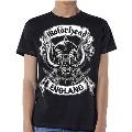 MOTORHEAD CROSSED SWORDS ENGLAND CREST T-shirt/Mサイズ