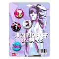 Justin Bieber 「JB」 Button Pack