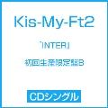 『INTER』(Tonight/君のいる世界/SEVEN WISHES) [CD+DVD]<初回生産限定盤B>