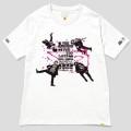 123 THE BAWDIES NO MUSIC, NO LIFE. T-shirt (グリーン電力証書付き) White/XLサイズ